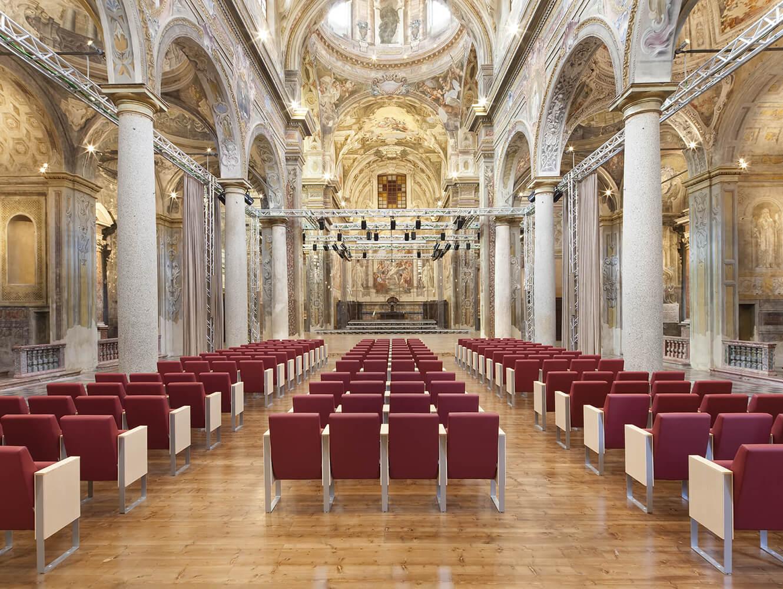 Auditorium San Vincenzo-Piacenza - C100 Armchair by LAMM