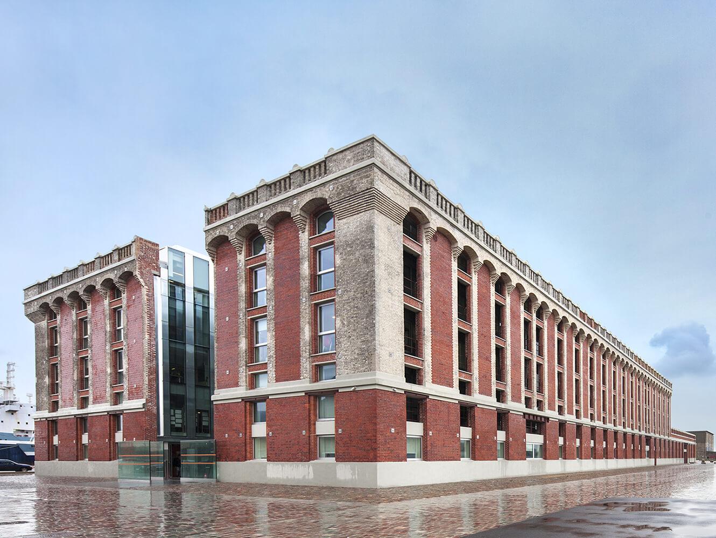 Halles aux Sucres-Dunkerque - L213 Armchair by LAMM