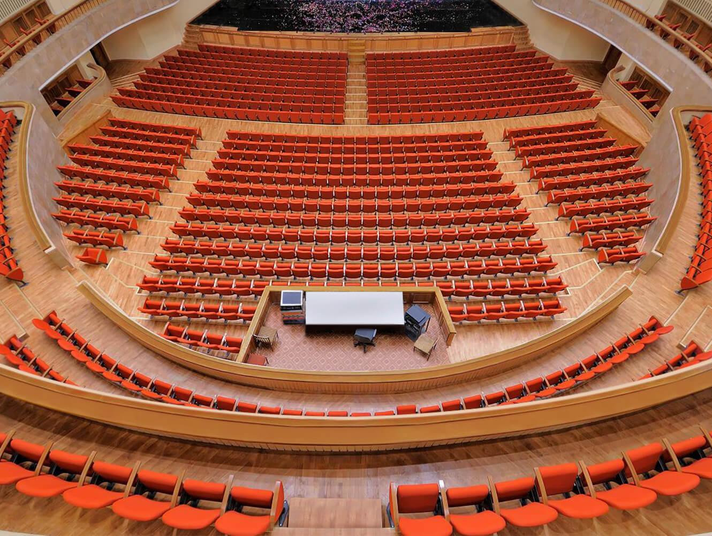 Theatre Music Hall-San Pietroburgo - Lyra Armchair by LAMM