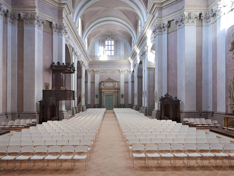 Chiesa di Sant'Agostino - Cesena - Zinia Chair by LAMM