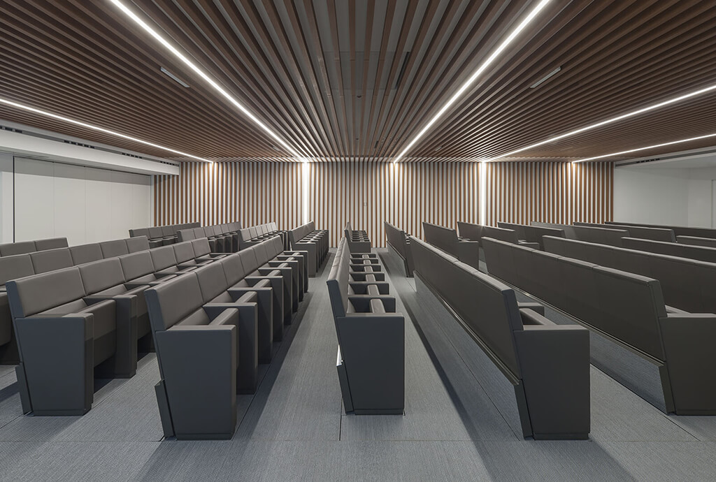 Astaldi chooses L213 on the Tycho retractable system for its new conference hall news