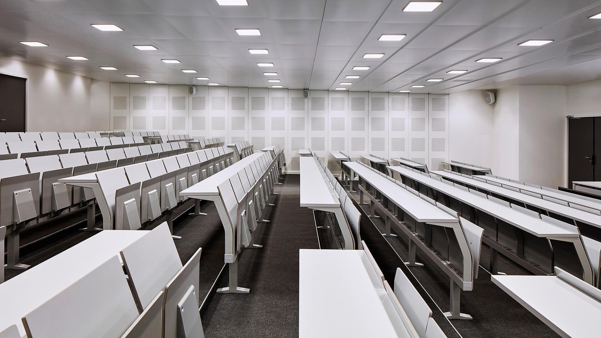 IRA de Lyon - E4000 study bench by LAMM