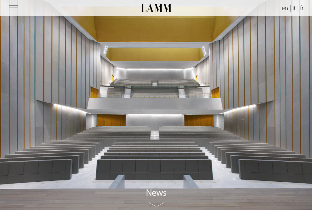 LAMM New Website