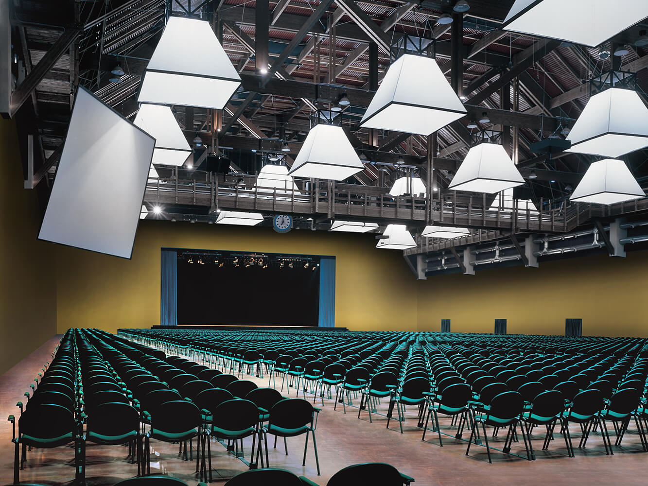 Palacassa Pavilion Theatre, Parma Fairgrounds - Modulamm chairs by LAMM